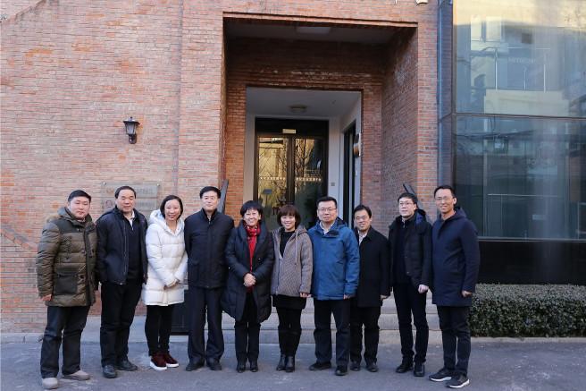 北京市西城区副区长司马红一行调研中文文化众创空间