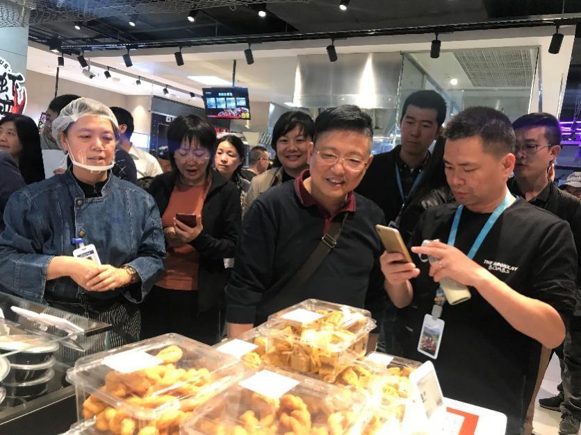"""北京首家盒马新业态""""盒马菜市""""落子泛悦坊•西城店"""